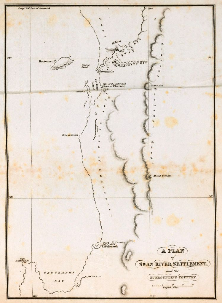 Swan Colony Map