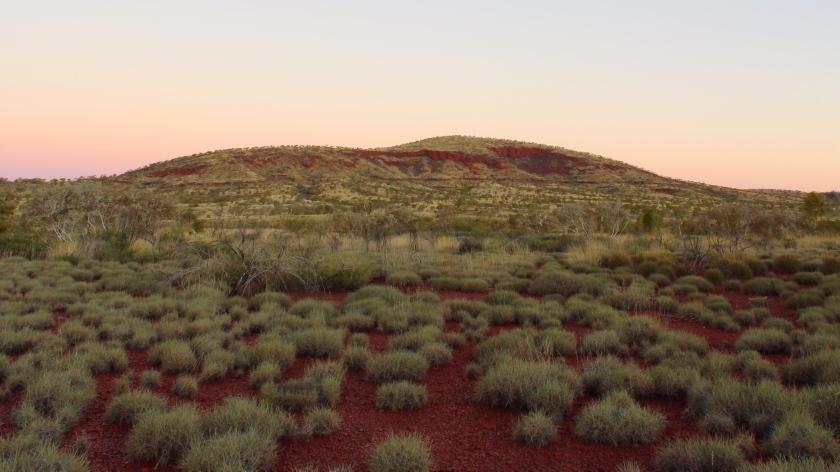 Spinifex Plain Karijini National Park Pilbara Western Australia