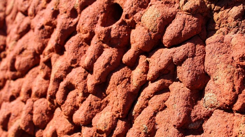 Termite mound Karijini National Park Pilbara Western Australia