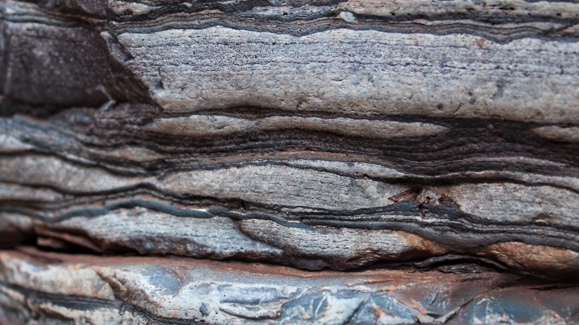 Banded Iron Formation Fortescue Falls Karijni Western Australia