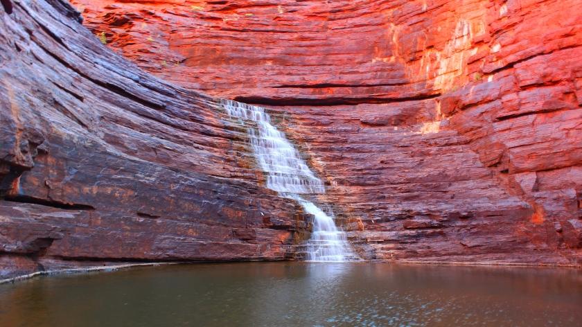 Joffre Falls Karijini Pilbara Western Australia
